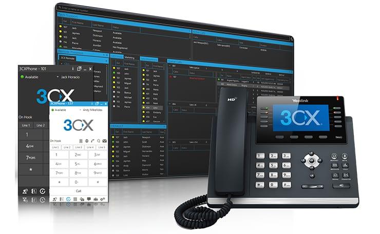 3CX Partner IP Phone Solutions Hotels Corporate Yealink